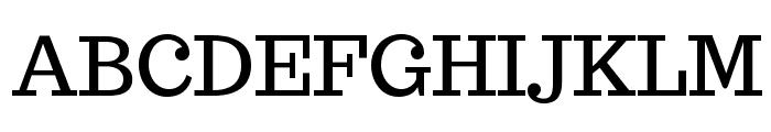 Trocchi Font UPPERCASE