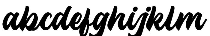 Troche Font LOWERCASE