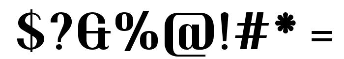 Trochut Bold Font OTHER CHARS