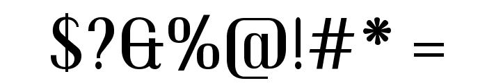 Trochut Font OTHER CHARS