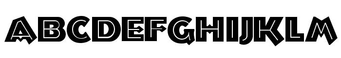 Troglodyte NF Font UPPERCASE