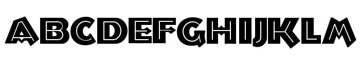Troglodyte NF Font LOWERCASE