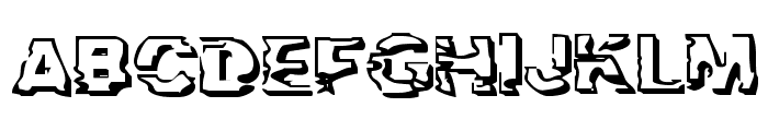 Troglodyte Troglodyte Font UPPERCASE