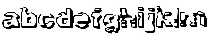 Troglodyte Troglodyte Font LOWERCASE