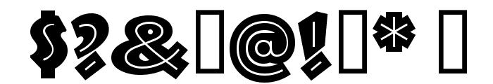 TroglodyteNF Font OTHER CHARS