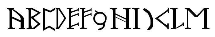 Troll Oathbound Font LOWERCASE