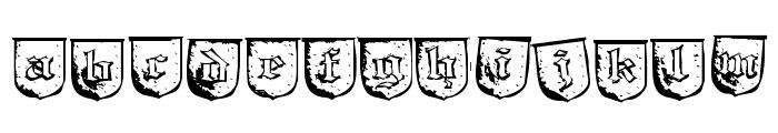 TrollBait-Regular Font LOWERCASE