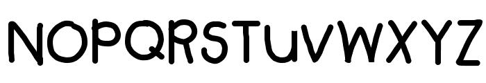 Troooble Font UPPERCASE