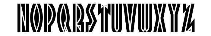 Tropicana NF Font UPPERCASE