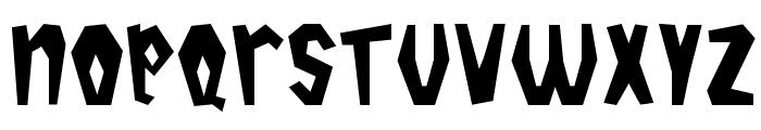 Tropicana Plain Font LOWERCASE
