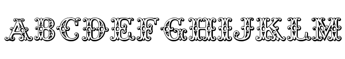Tropicana Font UPPERCASE