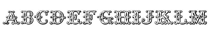 Tropicana Font LOWERCASE