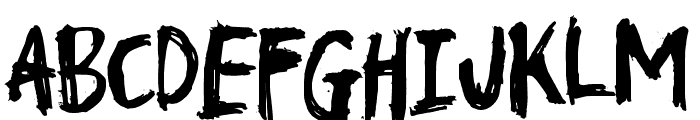 TroublemarkerDEMO Font LOWERCASE