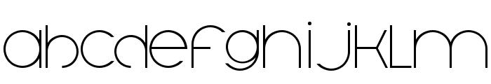 Trout Font LOWERCASE