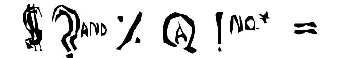 TruLogik Font OTHER CHARS