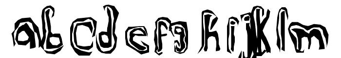 TruLogik Font LOWERCASE