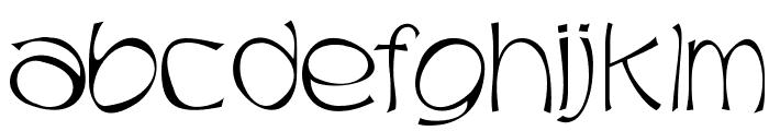 Trubble Font LOWERCASE