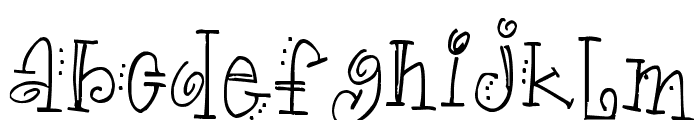 Truckle Font LOWERCASE