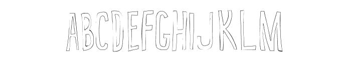 True 2D Font UPPERCASE