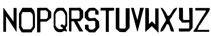 Trueblood Font UPPERCASE