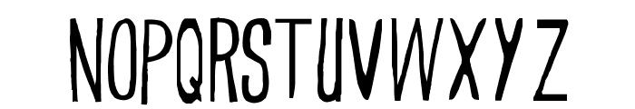 Trueblood Font LOWERCASE