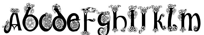 Trueheart Condensed Font UPPERCASE