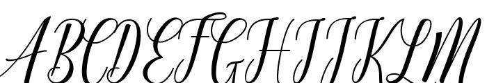 Truelike Font UPPERCASE