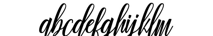 Truelike Font LOWERCASE