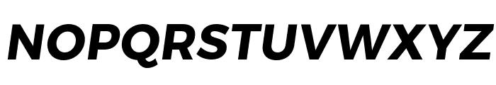 Trueno Bold Italic Font UPPERCASE
