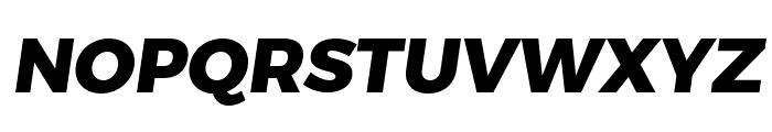 Trueno ExtraBold Italic Font UPPERCASE