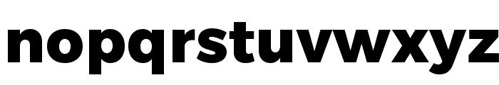 Trueno ExtraBold Font LOWERCASE