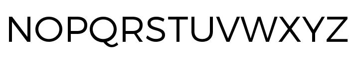 Trueno Light Font UPPERCASE