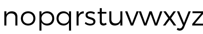 Trueno Light Font LOWERCASE