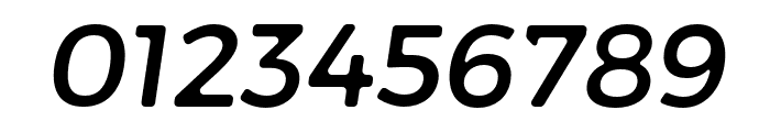 Trueno Round Italic Font OTHER CHARS