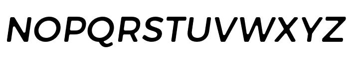 Trueno Round Italic Font UPPERCASE