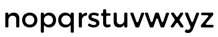Trueno Round Font LOWERCASE