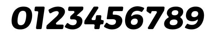 Trueno Rounnd Bold Italic Font OTHER CHARS