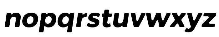 Trueno Rounnd Bold Italic Font LOWERCASE