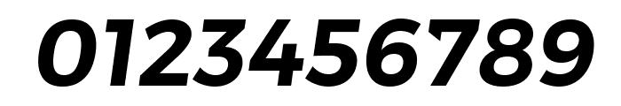 Trueno SemiBold Italic Font OTHER CHARS