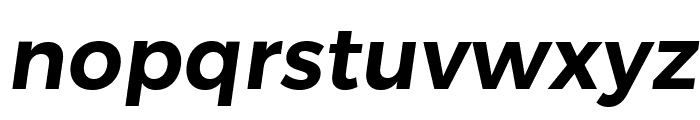 Trueno SemiBold Italic Font LOWERCASE