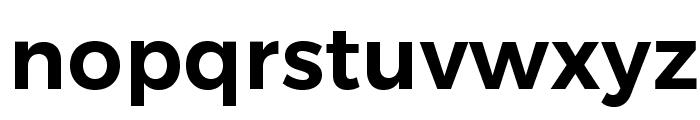 Trueno SemiBold Font LOWERCASE