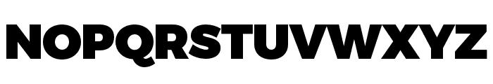 Trueno UltraBlack Font UPPERCASE