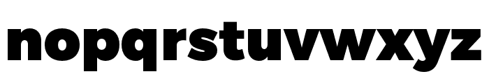 Trueno UltraBlack Font LOWERCASE