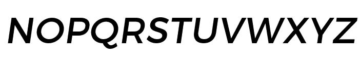 Trueno Font UPPERCASE