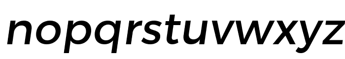 Trueno Font LOWERCASE