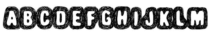 Truffle-Shuffle Font LOWERCASE