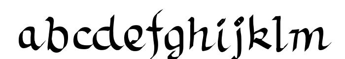 TrumanScript Font LOWERCASE