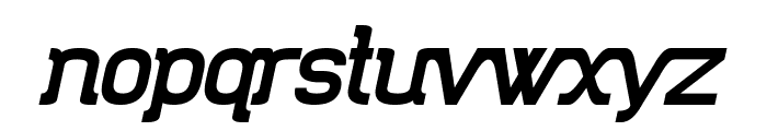 Trunkmill Oblique Font LOWERCASE