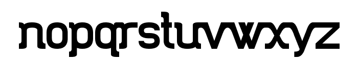 Trunkmill Font LOWERCASE