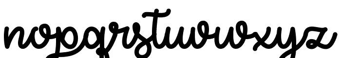 Try Happiness Demo Font LOWERCASE